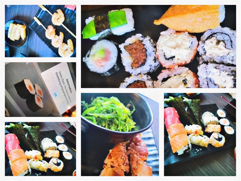 Sushi im Ichiban Hannover